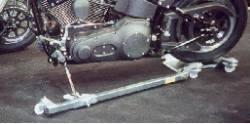 Rangier AS 320 Grundplatte mit Seitenarm - Bild vergrößern