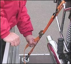 Motorradzurrgurt -2 K 25- - Produktbild
