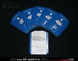 Parkscheibe mit A3Q-Logo - Bild vergrößern