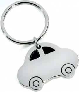 Metall-Schlüsselanhänger Auto im Geschenkkarton - Bild vergrößern