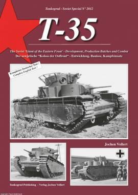 2012 T-35 - Der sowjetische -Koloss der Ostfront-,Tankograd NEU  - Bild vergrößern