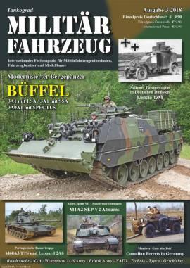 Militärfahrzeugmagazin 3/2018, Tankograd, NEU - Bild vergrößern