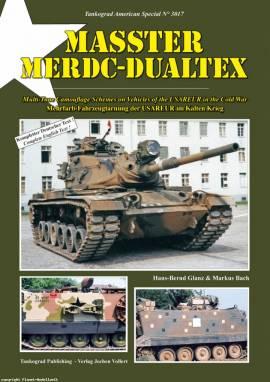 3017 MASSTER - MERDC - DUALTEX, Mehrfarb-Fahrzeugtarnung der USAREUR im Kalten Krieg, Neu 11/2011 - Bild vergrößern
