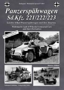 4014 Panzerspähwagen Sd.Kfz. 221/222/223 Tankograd NEU 01/10 - Bild vergrößern