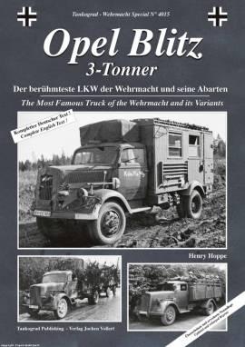 4015 Opel Blitz 3-to,Tankograd ERWEITERTE NEUAUFLAGE  - Bild vergrößern