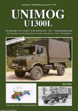 5047 Unimog 1300L Teil 1,  Tankograd, NEU  - Bild vergrößern