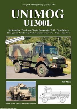 5048 Unimog 1300L Teil 2, Tankograd, NEU  - Bild vergrößern