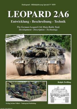 ! 5070 Leopard 2A6 Entwicklung,Technik, NEU 9/2017  - Bild vergrößern