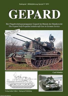 5073 Gepard Flugabwehrpanzer der Bundeswehr,Tankograd NEU  - Bild vergrößern