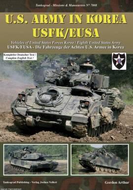 7008 US Army in Korea USFK / EUSA, Tankograd, NEU - Bild vergrößern