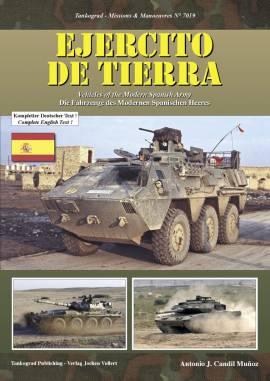 7019 EJERCITO DE TIERRA - Fahrzeuge des Modernen Spanischen Heeres , NEU  - Bild vergrößern