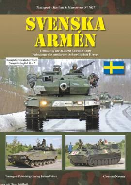 7027 Svenska Armén - Moderne schwedische Armee, Tankograd, NEU  - Bild vergrößern