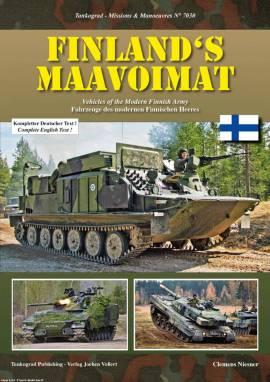 7030 Fahrzeuge der modernen finnischen Armee,NEU 9/2017  - Bild vergrößern