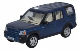 LRD006 Land Rover Discovery 3 Cairns, blau metallic, Oxford 1:76, NEU 12/2015 - Bild vergrößern