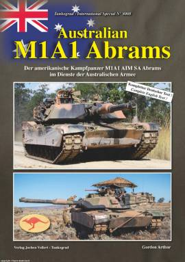 8008 Australian M1A1 Abrams, Tankograd NEU 6/2018 AUF LAGER! - Bild vergrößern