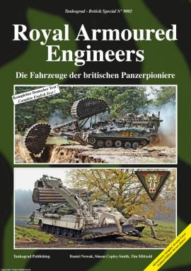 ! 9002 Royal Armoured Engineers, Tankograd NEU 6/20,VORBESTELLUNG - Bild vergrößern