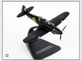 ! AC094 Boulton Paul Defiant RAF Nachtjäger 1940-41, Oxford 1:72,NEU - Bild vergrößern