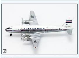 AC155 Douglas DC-6 ICELANDAIR TF-ISC, Aeroclassics 1:400, NEU 12/17  - Bild vergrößern