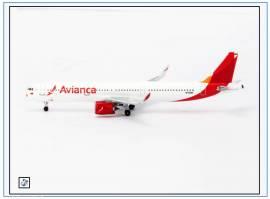 !AC419327 Airbus A320neo AVIANCA, N759AV, Aeroclassic 1:400,NEU 8/18 - Bild vergrößern