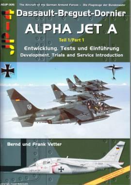 ADJP005 Alpha Jet A; Teil 1: Entwicklung, Tests, Einführung, AirDoc - Bild vergrößern