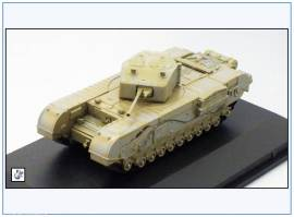 !CHT003 Churchill Mk.III Infantriepanzer, Tunesien 1943,Oxford 1:76,NEU 3/18 - Bild vergrößern