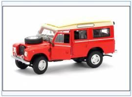 CRLAND3FIRE Land Rover Series III  Fire Brigade, Oxford Cararama 1:43, NEU - Bild vergrößern