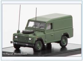!DEF003 Land Rover mit Hardtop, British Army, NATO green, Oxford 1:76 - Bild vergrößern