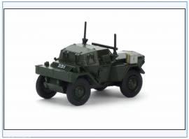 DSC005 Dingo Scout Car,Royal Ulster Constabulary, Nord-Irland, Oxford 1:76 - Bild vergrößern