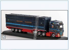 !DFX004 DAF XF 6x4 Sattelschlepper Viehtransporter, Oxford 1:76,NEU 6/19 - Bild vergrößern
