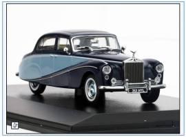 EMP002 Rools Royce Silver Cloud, zwei Töne blau, 1955-58, Oxford 1:43, NEU 7/18 - Bild vergrößern
