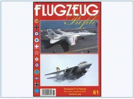 ! FP-61 Grumman F-14 Tomcat, Flugzeug-Profile,NEU 7/2018 - Bild vergrößern
