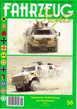 Fahrzeug-Profile 56: Gepanzerte Radfahrzeuge  der Bundeswehr Teil 1 - Bild vergrößern