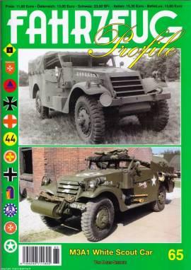 Fahrzeug-Profile 65: M3A1 White Scout Car, NEU 4/2015 - Bild vergrößern