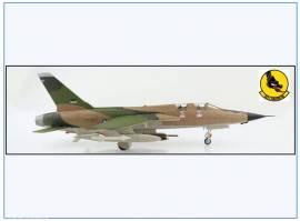 !A HA2551 F-105F Thunderchief USAF 357th TFS Vietnam 1967,Hobbymaster 1:72,NEU 8/21 - Bild vergrößern