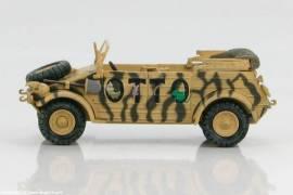 HG1203 VW Typ82 Kübelwagen -OTTO-, H.-J. Marseille, Libyen 1942, Hobbymaster Maßstab 1:48 - Bild vergrößern