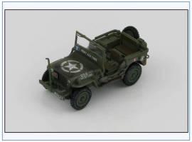 HG1609 Willys Jeep  French Armoured Division du Marechal Leclerc, Aug 1944, Hobbymaster 1:48,NEU - Bild vergrößern