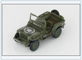 HG1611 Willys Jeep  101st US Airborne Division, Hobbymaster 1:48,NEU 3/17 - Bild vergrößern
