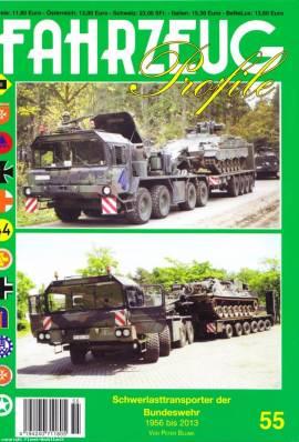 Fahrzeug-Profile 55: Panzertransporter der Bundeswehr 1956 - 2013 - Bild vergrößern