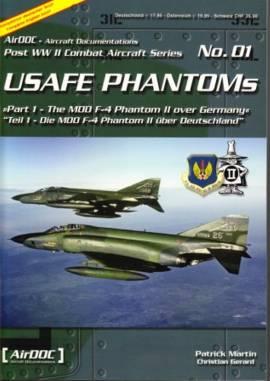 ! ADP001 USAF Europe F-4 Phantoms über Deutschland, AirDoc NEU  - Bild vergrößern