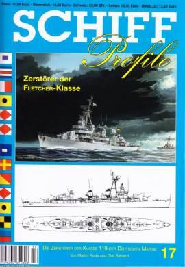 Schiffprofile 17: Die Zerstörer der Fletcher-Klasse der Bundesmarine, NEUHEIT 11/2014 - Bild vergrößern