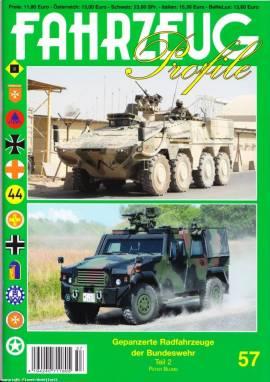 Fahrzeug-Profile 57: Gepanzerte Radfahrzeuge  der Bundeswehr Teil 2 - Bild vergrößern
