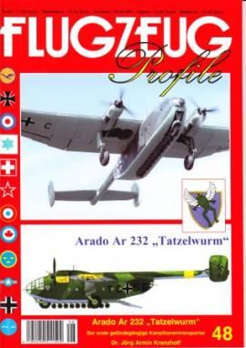 Flugzeug-Profile 48: Arado Ar232 -Tatzelwurm- - Bild vergrößern