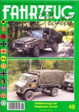 Fahrzeug-Profile 48: Radfahrzeuge der Belgischen Armee - Bild vergrößern