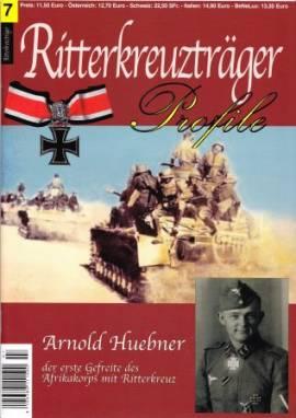 RT-07 Arnold Huebner, Afrika Korps, Ritterkreuzträger-Profile - Bild vergrößern
