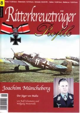 RT-08 Joachim Müncheberg, Jagdflieger, Ritterkreuzträger-Profile - Bild vergrößern