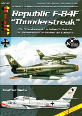 ! ADJP003 F-84F Thunderstreak in der Bundesluftwaffe, AirDoc - Bild vergrößern