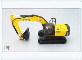 !JS001 JCB JS220 Raupenbagger, Oxford 1:76, NEU 3/2018 - Bild vergrößern