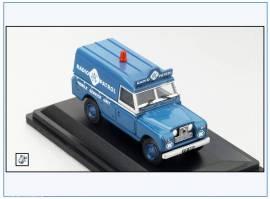 !LAN2017 Land Rover Series II LWB, hard top, RAC Radio Patrol, Oxford 1:76, NEU 3/2018 - Bild vergrößern