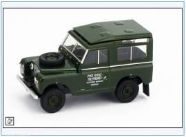 !LR2S003 Land Rover Series II SWB Hard Top Post Office Telephone,Oxford 1:76, NEU 11/17 - Bild vergrößern