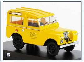 LR2S004 Land Rover SII SWB POST OFFICE TELEPHONES; Oxford 1:43, NEU 11/2019 - Bild vergrößern